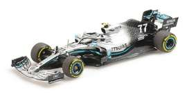 Mercedes Benz Petronas - W10 2019 silver-green - 1:43 - Minichamps - 410190077 - mc410190077 | The Diecast Company