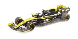 Renault  - R.S. 19 2019 yellow/black - 1:43 - Minichamps - 417190003 - mc417190003 | The Diecast Company