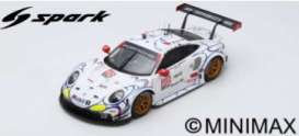 Porsche  - 911 2018 white/red/black - 1:18 - Spark - 18US005 - spa18US005 | The Diecast Company