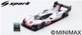 Porsche  - 919 2018 white/red/black - 1:18 - Spark - 18S405 - spa18S405 | The Diecast Company