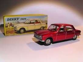 Peugeot  - 204 Berline red - 1:43 - Magazine Models - 2267002 - magDT2267002 | The Diecast Company