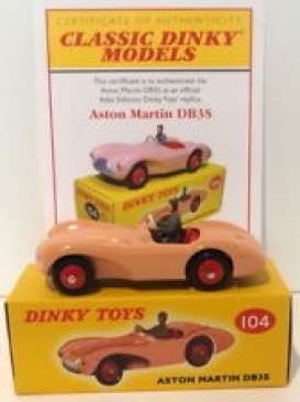 Aston Martin  - DB3S pink - 1:43 - Magazine Models - 4659130 - magDT4659130 | The Diecast Company