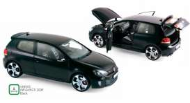 Volkswagen  - Golf GTi 2009 black - 1:18 - Norev - 188502 - nor188502 | The Diecast Company