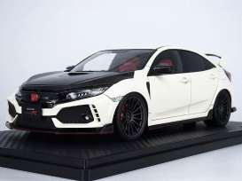 Honda  - Civic white - 1:18 - Ignition - IG1447 - IG1447 | The Diecast Company
