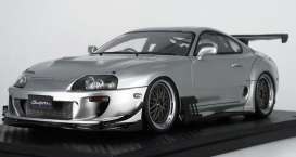Toyota  - Supra (JZA80) silver - 1:18 - Ignition - IG1353 - IG1353 | The Diecast Company