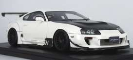 Toyota  - Supra (JZA80) white/black - 1:18 - Ignition - IG1355 - IG1355 | The Diecast Company