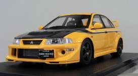 Mitsubishi  - Lancer Evolution yellow/black - 1:18 - Ignition - IG1553 - IG1553 | The Diecast Company