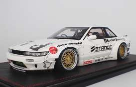 Rocket  - Bunny S13 V2 white - 1:18 - Ignition - IG1134 - IG1134 | The Diecast Company