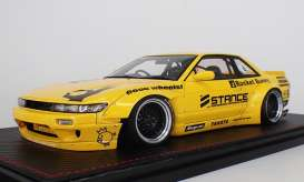 Rocket  - Bunny S13 V2 yellow - 1:18 - Ignition - IG1135 - IG1135 | The Diecast Company