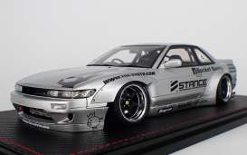 Rocket  - Bunny S13 V2 silver - 1:18 - Ignition - IG1136 - IG1136 | The Diecast Company
