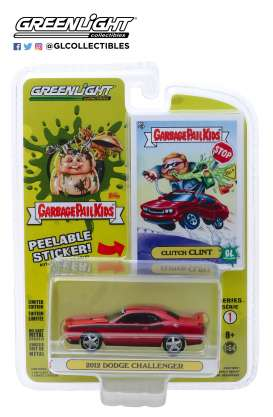 Dodge  - Challenger red - 1:64 - GreenLight - 54010F - gl54010F | The Diecast Company