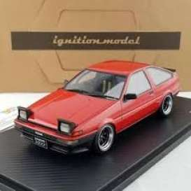 Toyota  - Sprinter red - 1:18 - Ignition - IG0538 - IG0538 | The Diecast Company