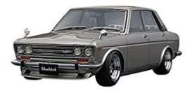 Datsun  - Bluebird SSS silver - 1:18 - Ignition - IG0612 - IG0612 | The Diecast Company