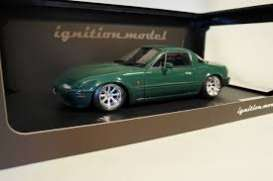 Mazda  - Eunos Roadster green - 1:18 - Ignition - IG0666 - IG0666 | The Diecast Company