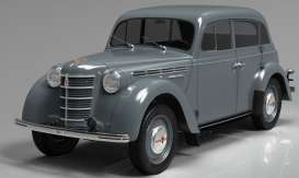 Moskvitch  - 400-420 1946 grey - 1:18 - KK - Scale - 180254 - kkdc180254 | The Diecast Company