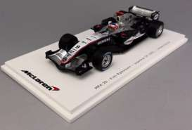 McLaren  - MP4-20 #9 2005 black/silver - 1:43 - Spark - VMM1376 - spaVMM1376 | The Diecast Company