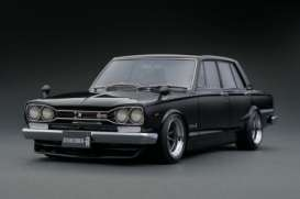 Nissan  - Skyline GT-R black - 1:18 - Ignition - IG0754 - IG0754 | The Diecast Company