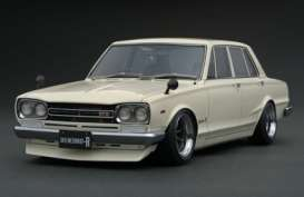 Nissan  - Skyline GT-R white - 1:18 - Ignition - IG0762 - IG0762 | The Diecast Company