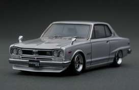 Nissan  - Skyline 2000 GT-Z silver - 1:43 - Ignition - IG0377 - IG0377 | The Diecast Company