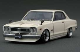 Nissan  - Skyline 2000 GT-Z white - 1:43 - Ignition - IG0378 - IG0378 | The Diecast Company