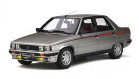 Renault  - 9 Turbo 1984 silver - 1:18 - OttOmobile Miniatures - ot540 - otto540 | The Diecast Company