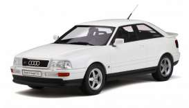 Audi  - S2 1991 white - 1:18 - OttOmobile Miniatures - 288 - otto288 | The Diecast Company