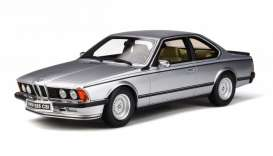 BMW  - (E24) 635 1982 silver - 1:18 - OttOmobile Miniatures - 313 - otto313 | The Diecast Company