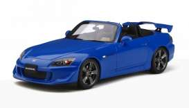 Honda  - S2000 Type S 2007 blue - 1:18 - OttOmobile Miniatures - 312 - otto312 | The Diecast Company