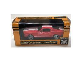 Shelby  - GT500 1967 red/white - 1:43 - Shelby Collectibles - 14367rd - shelby14367rd | The Diecast Company