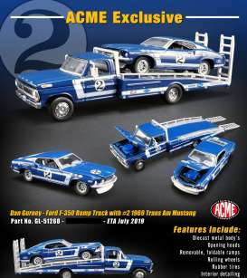 Ford  - Ramp Truck various - 1:64 - Acme Diecast - 51268 - acme51268 | The Diecast Company