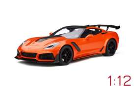 Chevrolet  - Corvette C7 ZR1 2018 orange - 1:12 - GT Spirit - 246 - GT246 | The Diecast Company