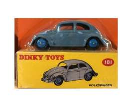 Volkswagen  - Beetle grey-blue - 1:43 - Magazine Models - magDTbeetle | The Diecast Company