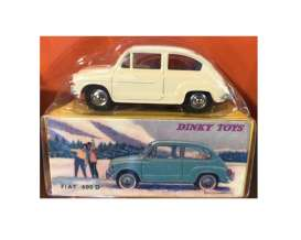 Fiat  - 600D white - 1:43 - Magazine Models - magDTfiat600 | The Diecast Company