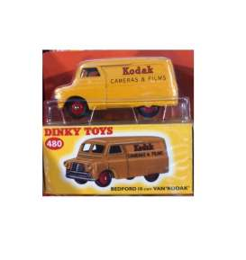 Bedford  - 10 cwt *Kodak* yellow/red - 1:43 - Magazine Models - magDTbedford | The Diecast Company