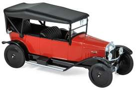 Citroen  - Type A 1919 red - 1:43 - Norev - 151509 - nor151509 | The Diecast Company