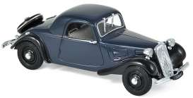 Citroen  - Traction 7C 1937 dark blue - 1:43 - Norev - 153029 - nor153029 | The Diecast Company