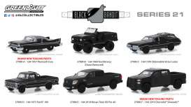 Assortment/ Mix  - black - 1:64 - GreenLight - 27990 - gl27990 | The Diecast Company