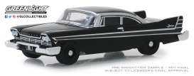 Plymouth  - Fury 1957 black - 1:64 - GreenLight - 27990A - gl27990A | The Diecast Company