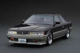 Nissan  - Leopard 3.0 Ultima black - 1:18 - Ignition - IG1017 - IG1017 | The Diecast Company