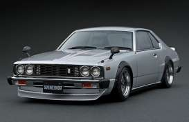Nissan  - Skyline 2000GT silver - 1:18 - Ignition - IG1083 - IG1083 | The Diecast Company