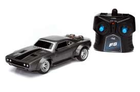Dodge  - Ice Charger *Radio Control* 1970 dark grey - 1:24 - Jada Toys - 98310 - jada98310 | The Diecast Company