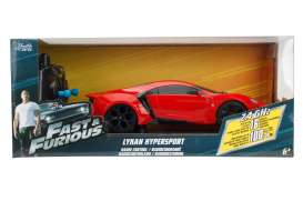 Lykan  - Hypersport *Radio Control* 2015 red - 1:24 - Jada Toys - 98552 - jada98552 | The Diecast Company