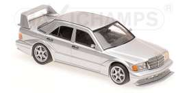 Mercedes Benz  - 190E 2.5-16 EVO2 1990 silver - 1:43 - Maxichamps - 940923401 - mc940923401 | The Diecast Company