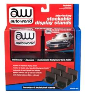 Accessoires diorama - black - 1:64 - Auto World - AWDC017 - AWDC017 | The Diecast Company