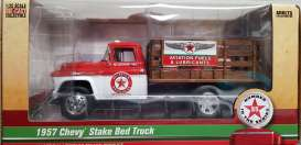 Chevrolet  - Tow Truck *Texaco* 1957 red/white - 1:25 - Auto World - CP7505 - AWCP7505 | The Diecast Company