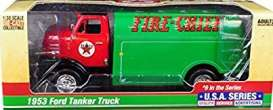 Ford  - Tanker  1957 green/red - 1:25 - Auto World - CP7520 - AWCP7520 | The Diecast Company