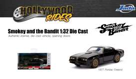 Pontiac  - Trans Am Fire Bird  1977 black/gold - 1:32 - Jada Toys - 31061 - jada31061 | The Diecast Company