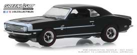 Chevrolet  - COPO Camaro 1968 black - 1:64 - GreenLight - 13250A - gl13250A | The Diecast Company