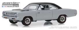 Plymouth  - Road Runner 1968 silver - 1:64 - GreenLight - 13250B - gl13250B | The Diecast Company