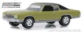 Mercury  - Cougar 1971 green - 1:64 - GreenLight - 13250D - gl13250D | The Diecast Company